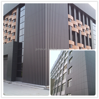 New designed frp decorative corrugated metal wall panels