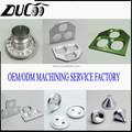 Alta demanda mecanizado de precisión cnc mecanizado de aluminio anodizado piezas