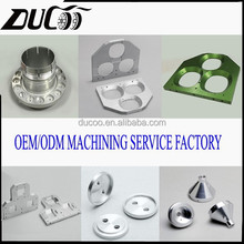 High demand precision machining cnc machined anodized aluminum parts