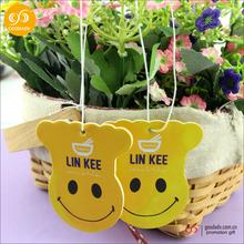 Guangzhou promotion wholesale custom make hanging paper car air freshener