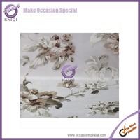 17943 wedding decorations wholesale china chocolate wedding table linens