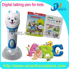 children sound book & reading pen-Digital Touch Read Pen With 6 English Books for kids