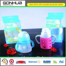 Baby Feeding Bottle PET Plastic Packaging Box Food Grade