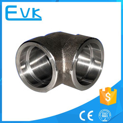 Forged Schedule 80 Steel Pipe Fittings Elbow