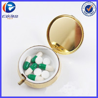 Pill Promotional Creative Box Key Chain For Outdoor
