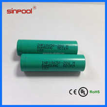 Hottest!!!High quality 18650 Samsung INR18650 20Q battery 20A discharge battery 18650 lithium ion battery 7.4v 1500mah