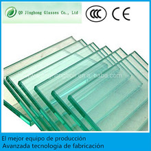 Muros de cristal de vidrio templado con CE para edificios