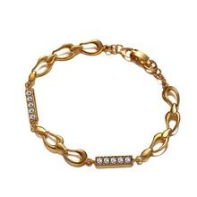 bracciale in oro 14k per le donne