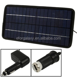 High Quality Poly Silicon Solar Panel Car Battery Charger for Cars
