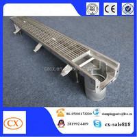 Modular 125 Channel Drain Heelsafe Stainless Steel Grate