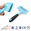 Pet Shop Hot Selling Self-Cleaning Pet Grooming Brush Dog Slicker