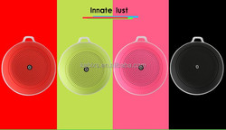 High quality mini portable bluetooth speaker bulit-in 1200mah rechargeable battery support FM,TF card functions Q4