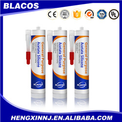 fast drying construction adhesive fast curing acetic silicone sealant