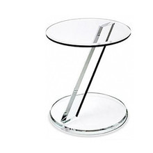 OEM crystal acrylic dining table base