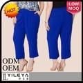 elegante más el tamaño de alibaba pantalones y pantalones para las mujeres gordas
