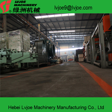 gypsum board production machine got thermal oil and hot air type