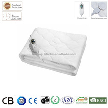 Surper 200x90cm 6 Setting Timer LED Display Queen Size Cotton Electric Blanket