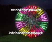 Attractive Glowing/Fluorescent/Lighting Zorb Balls