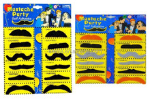 good for kids and adult playing mustache fake mustache beard and fake moustache for sale MU 5043