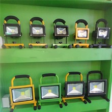 shenzhen factory promotion price waterproof 10 wattrechargeable led flood light for outdoor,dimmable led flood light