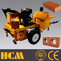 Electric or Diesel M7mi simple brick making machine