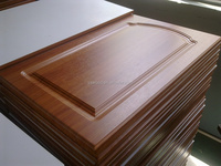 carved PVC mdf cabinet door panel