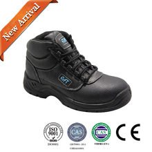 Genuine leather upper thick sole velcro work shoes