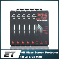 Wholesale Anti Shock 0.33mm 9H Hardness 2.5D Clear tempered glass screen protector for ZTE V5 max