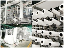 pp woven tubular fabric / flat fabric in roll