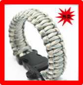 wholesale rescue rope safety paracord bracelets and bangles