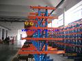 Proyectos diseño de almacenamiento exterior material de la tubería plataforma de almacenamiento, almacén de doble cara australia sistema económico