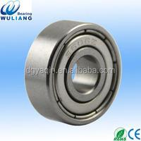 6x17x6mm S606ZZ high speed 6 mm bore ball bearing s606 2z S606