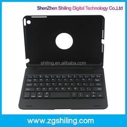 Ultrathin Bluetooth Keyboard For iPad Mini, Wireless Keyboard With 360 Degree Rotating
