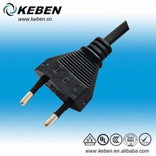 Good sales VDE 2 pin power cable printer power plug supply