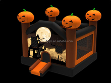 2015 new design halloween decorative kids fun bounce house commercial inflatable bouncy castle