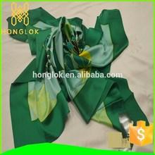 Honglok 110*110cm square silk scarf winter pashimina