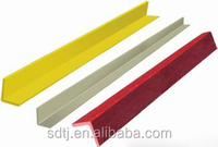 compound glass angle steel (high temperature resisitant, light green\brown\tan)