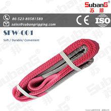 EN1492-1 CE ISO rigging manufacturer polyester lifting sling