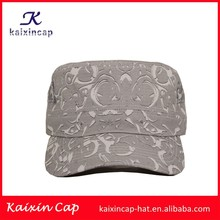 OEM wholesale China suppliers cotton custom high quality army military hats for unisex