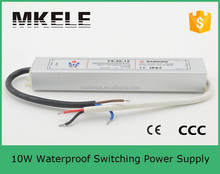 FS-10-12 full function adjustable waterproof electronic led driver constant voltage power supply 12VDC 10W