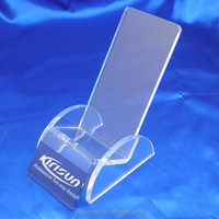 high quality 2015 custom acrylic mobile phone display stand/acrylic mobile phone holder/acrylic mobile phone stands