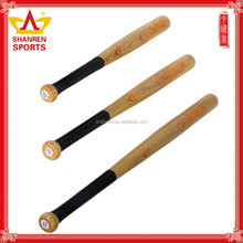 wooden baseball bat with size customized