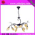 jady de cerámica flor de la lámpara del vestíbulo de la lámpara de diseño