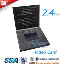 video business card/greeting card voice recorder module/sound greeting card