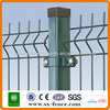 Trade Assurance Alibaba China ISO9001 Curved pvc coated welded wire mesh fence\3 bends wire mesh fence with post\security fence