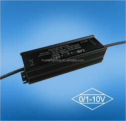 led waterproof power supply 80W 24VDC 3300mA 0~10V dimming constant voltage manufacture by HUARUI