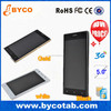 Customer logo quad core WCDMA dual sim phone smart phone