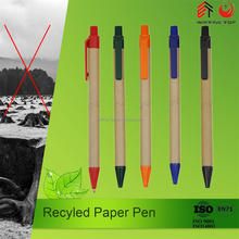 Promotional paper roll ball pen