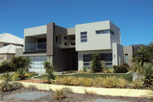 Luxury prefabricated light steel villa