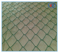 Beautiful cheap price PVC coated chain link fence for garden and stadium